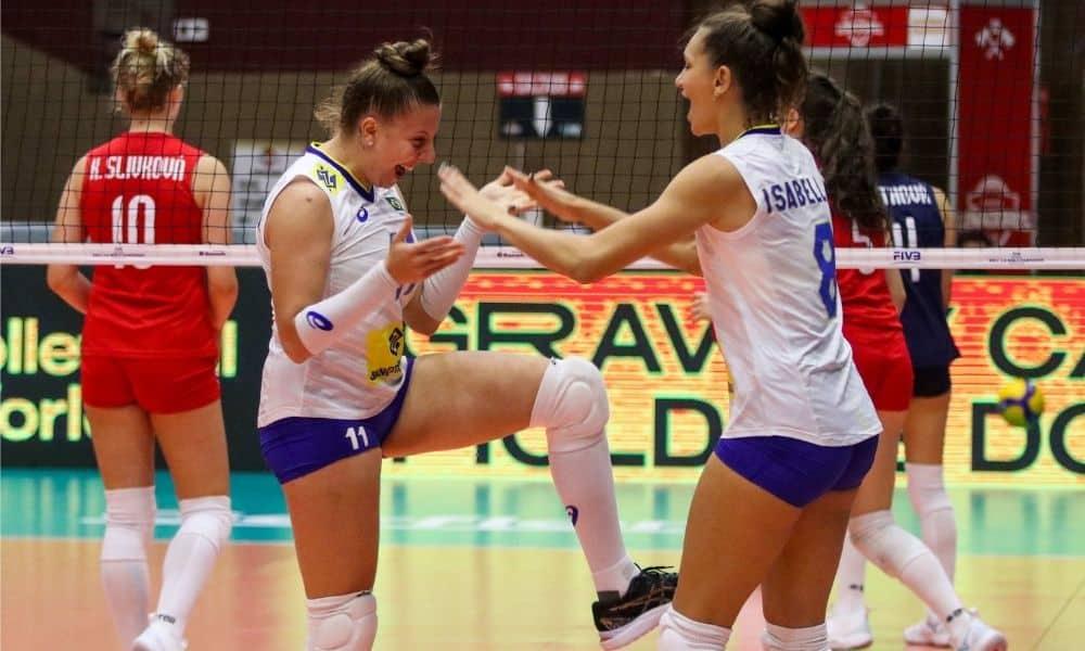 Brasil x Eslováquia - Mundial Sub-18 feminino de vôlei