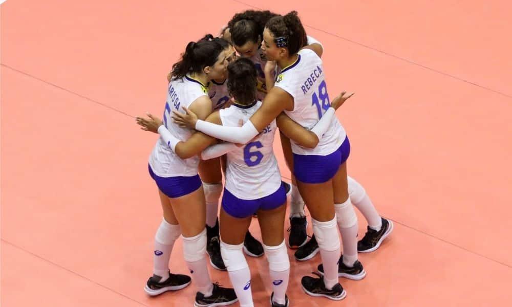 Brasil x Bulgária - Mundial Sub-18 feminino de vôlei