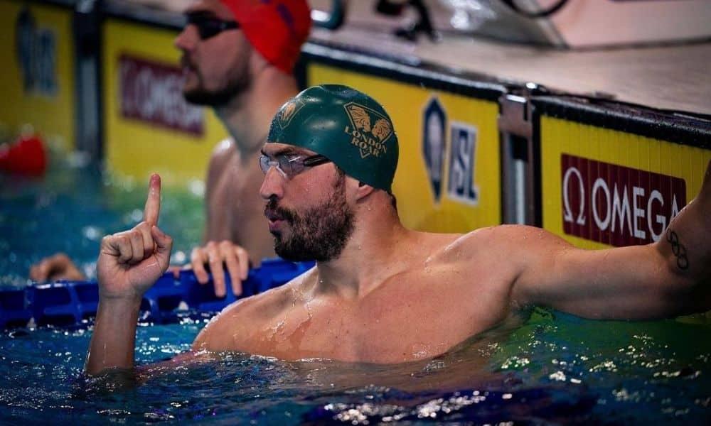 Guilherme Guido costas ISL natação