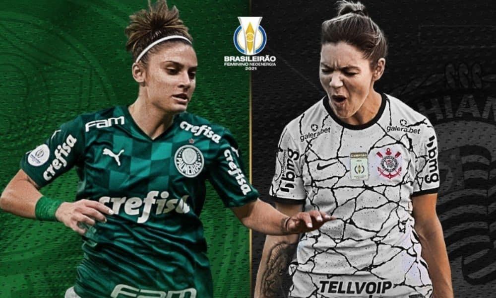 Final do Brasileirão Feminino Neoenergia 2021 será entre Palmeiras e Corinthians