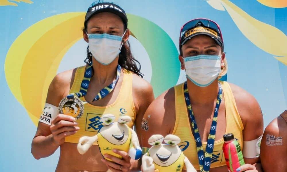 Rebecca/Talita open circuito brasileiro de vôlei de praia