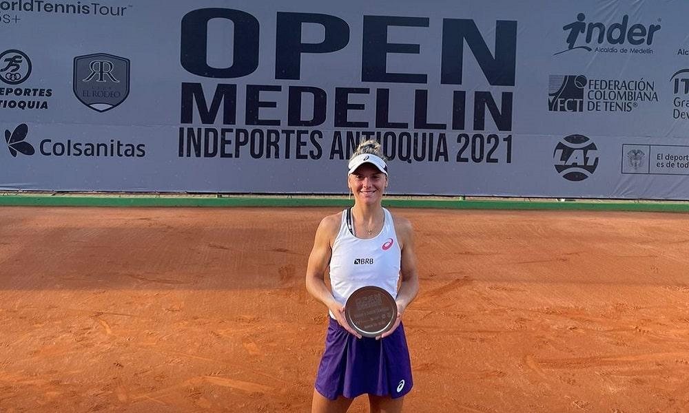João Lucas Silva Laura Pigossi ITF Medellin Gilbert Klier