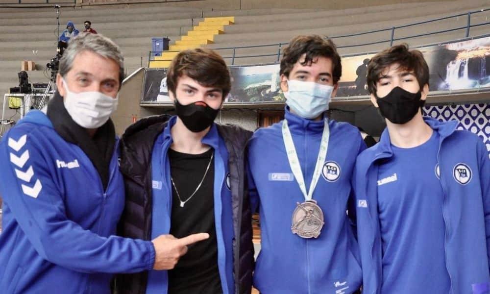 Esgrima Cadete Pinheiros Lucas Busnelo Campeonato Brasileiro Cadete e Juvenil