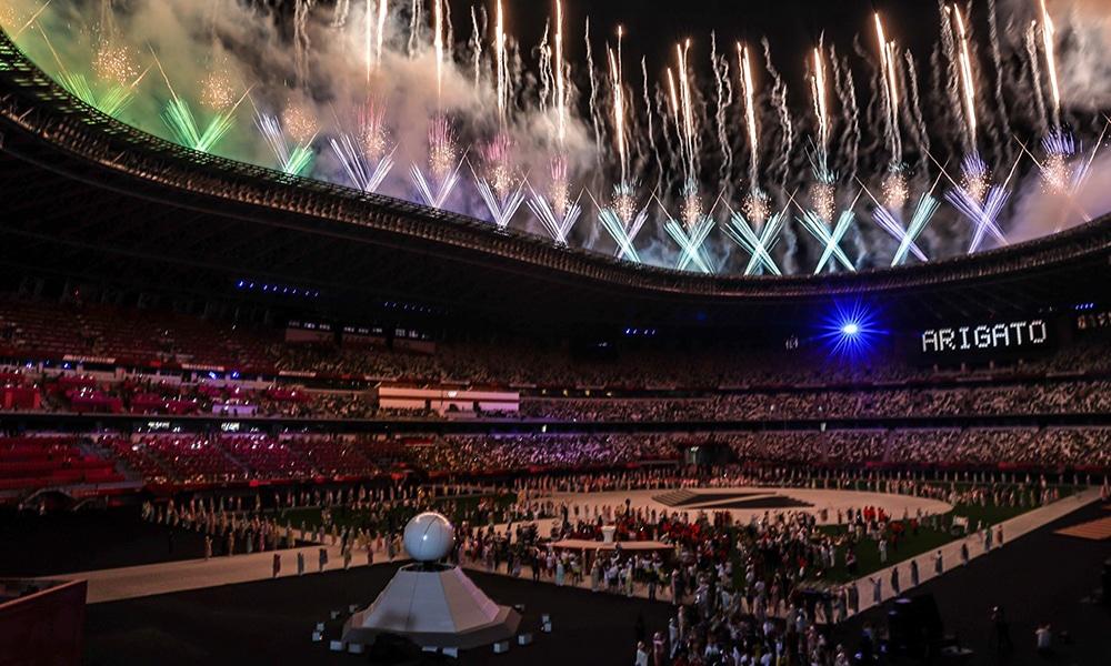 Japão Pandemia Olimpíada Japão Tóquio 2020 encerramento