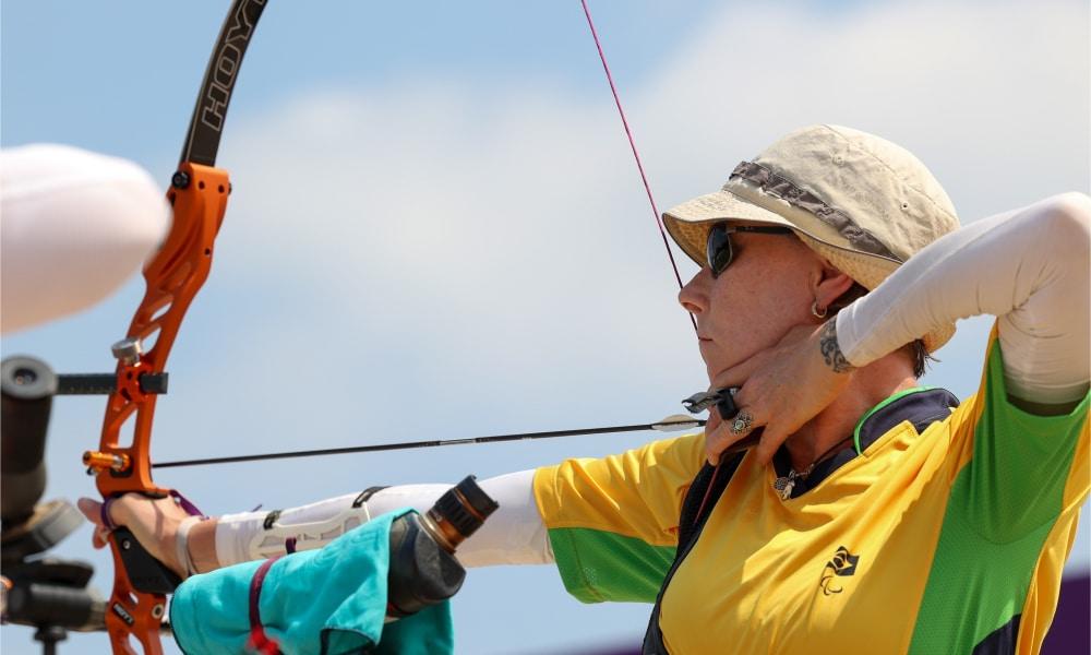Fabíola Dergovis cai nas quartas de final do arco recurvo feminino nos Jogos Paralímpicos de Tóquio