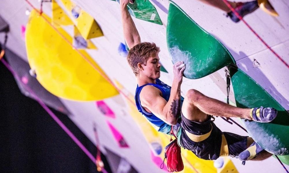 Felipe Ho e Bianca Castro têm melhores resultados do Brasil no Mundial de escalada