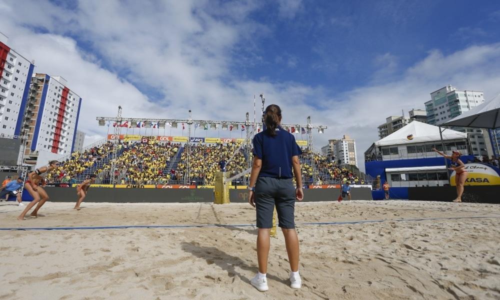 Itapema receberá etapa do Circuito Mundial de vôlei de praia