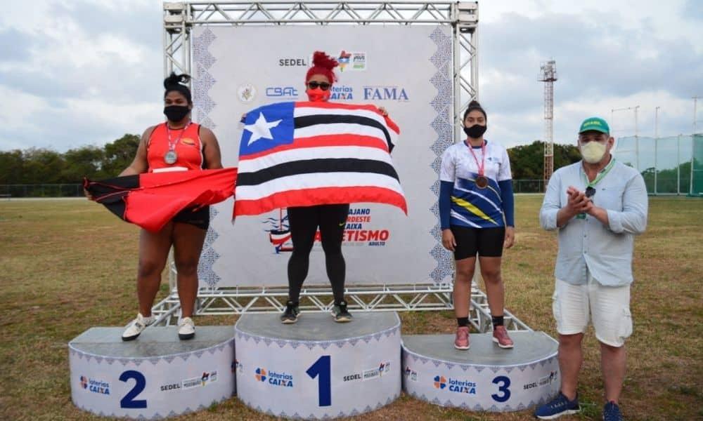Izabela Rodrigues Troféu Norte Nordeste de atletismo