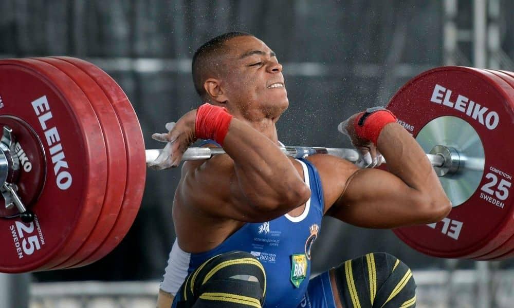 Josué Silva Campeonato Brasileiro de levantamento de peso