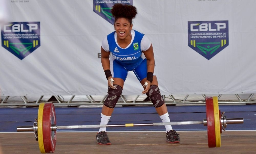 Laura Amaro Campeonato Brasileiro de levantamento de peso