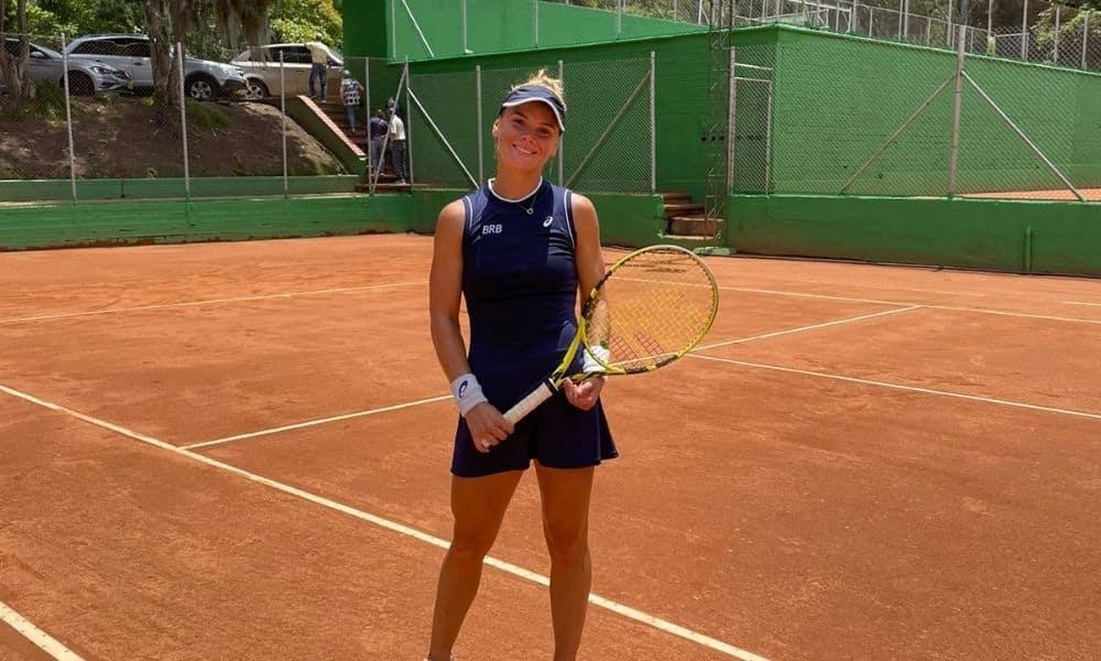 Laura. Pigossi ITF Medellin