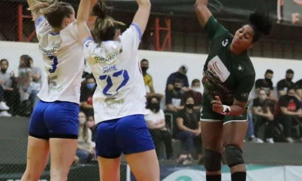 Liga Hand Feminina - Maringá e Blumenau - CascavelConcórdia
