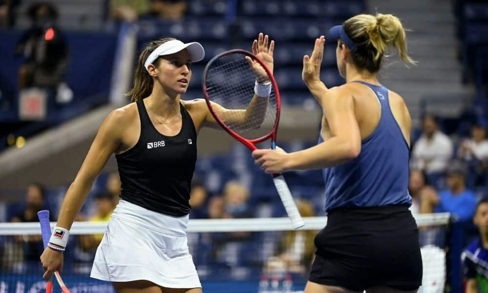 Luisa Stefani Gabriela Dabrovski - US Open