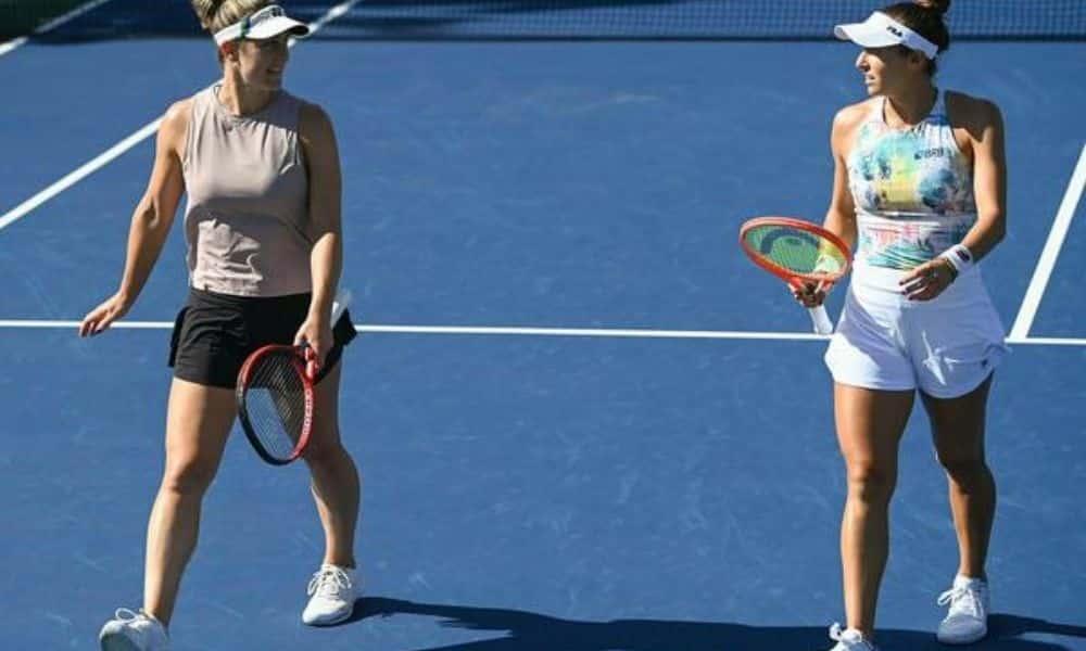 Jogando ao lado da canadense Gabriela Dabrovski, Luisa Stefani venceu/perdeu para croata Petra Martic e a americana Shelby Rogers e oitavas do US Open