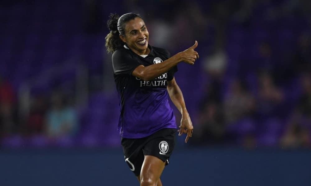 Com gol de Marta, Orlando Pride vence na NWSL