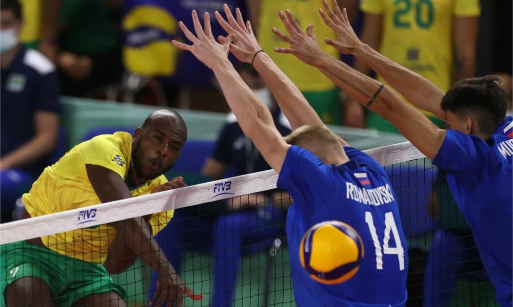 Brasil perde para Rússia na estreia do Mundial Sub-21 de vôlei masculino