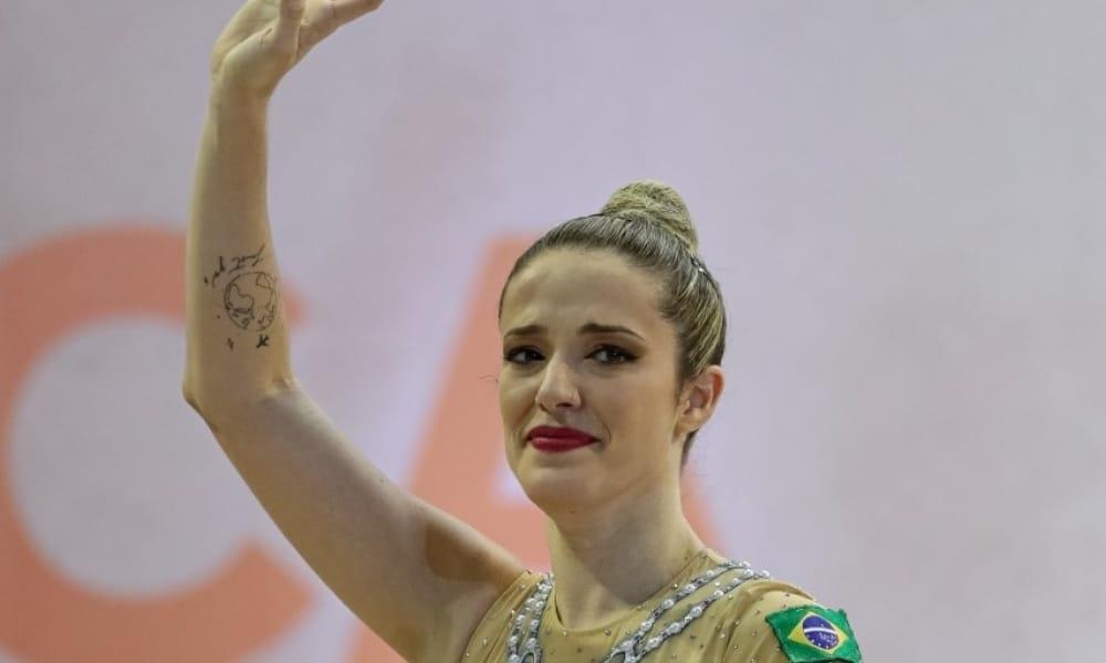 Após Brasileiro de Ginástica Rítimica dominado por Bárbara Domingos, Natália Gaudio anuncia aposentadoria