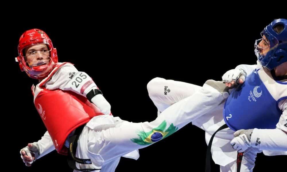 Nathan Torquato campeão paralímpico taekwondo jogos paralímpicos tóquio 2020