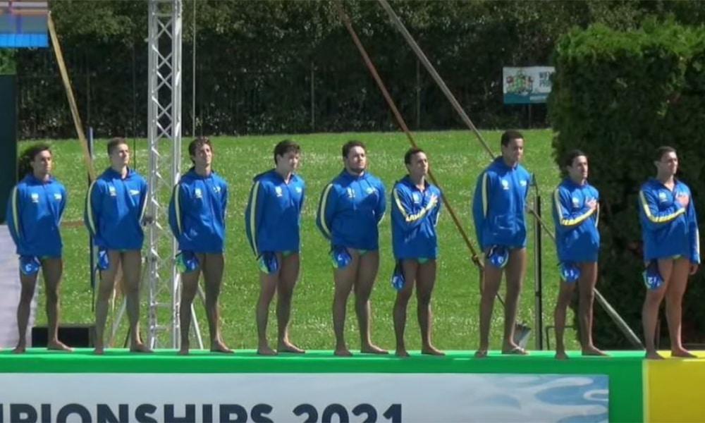 Brasil perde para Sérvia no Mundial Júnior de polo aquático