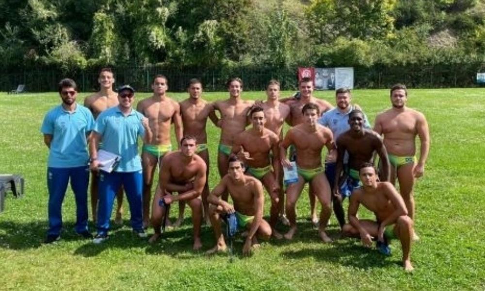 Brasil vence a África do Sul no Mundial Júnior de polo aquático