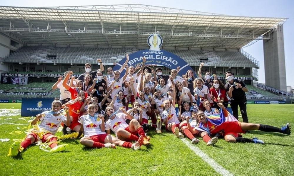 Red Bull Bragantino vence Atlético-MG e é campeão do Brasileirão Feminino A2