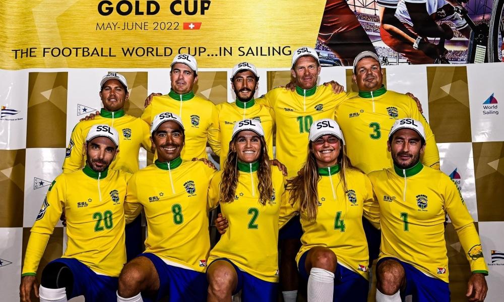 Brasil vence as duas regatas de abertura do evento-teste da SSL Gold Cup