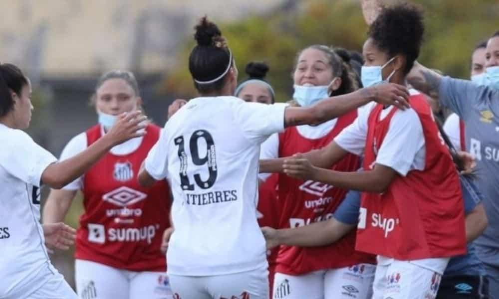 Santos e Palmeiras Paulista feminino