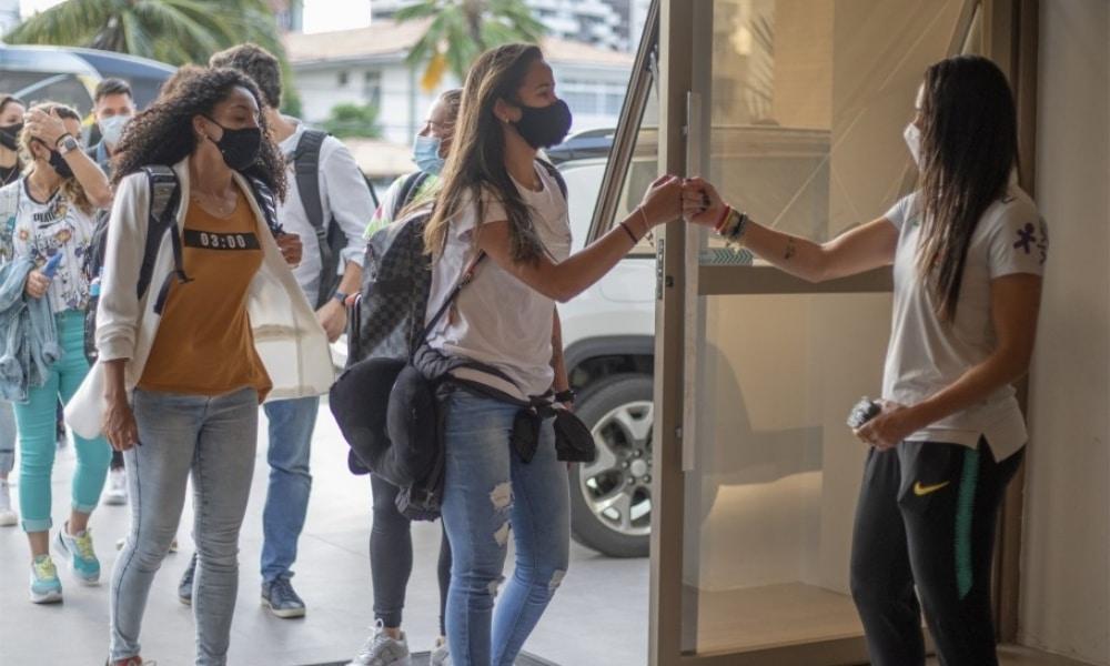 Seleção Feminina começa a se apresentar em João Pessoa para início da Data FIFA