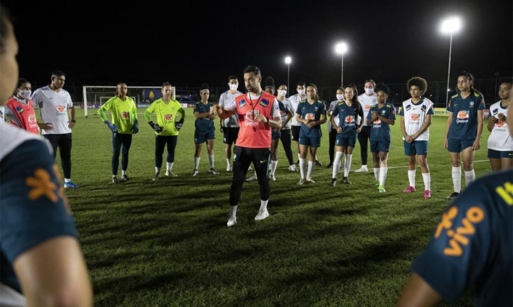 Seleção feminina Sub-20 se apresenta em Brasília para período de preparação