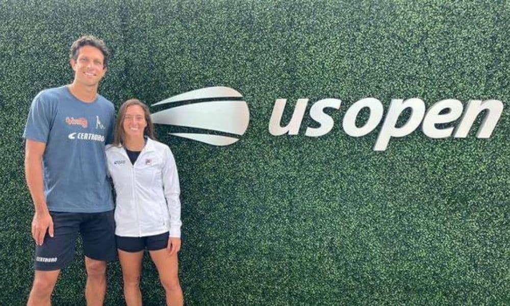 US Open Marcelo Melo Luisa Stefani