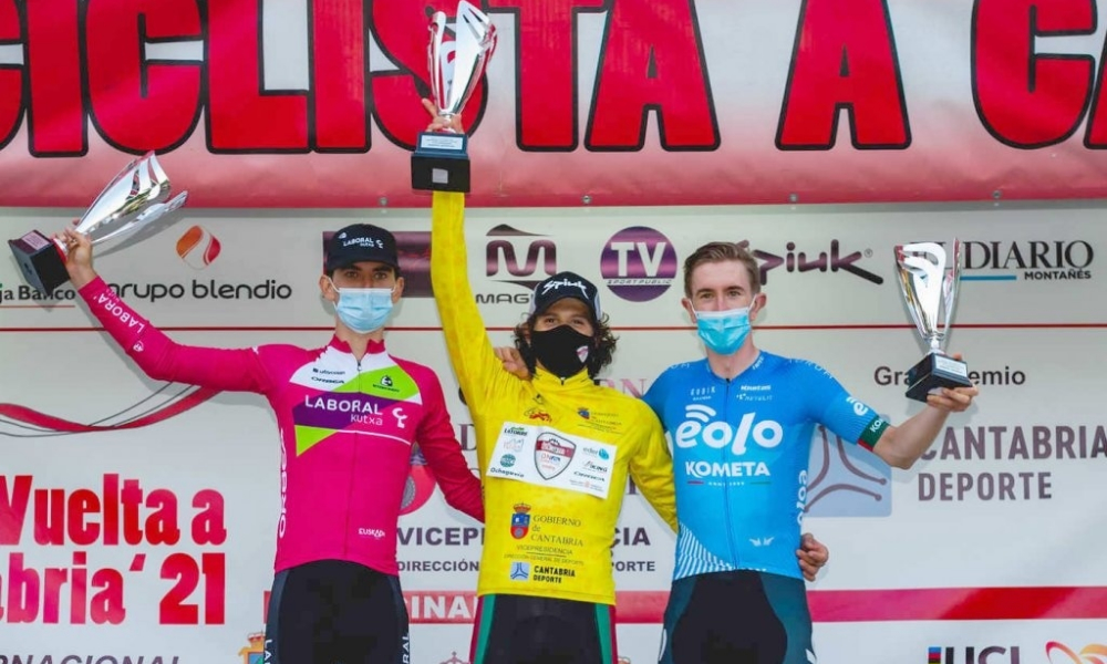 Vinicius Rangel venceu a Volta Ciclística de Cantabria