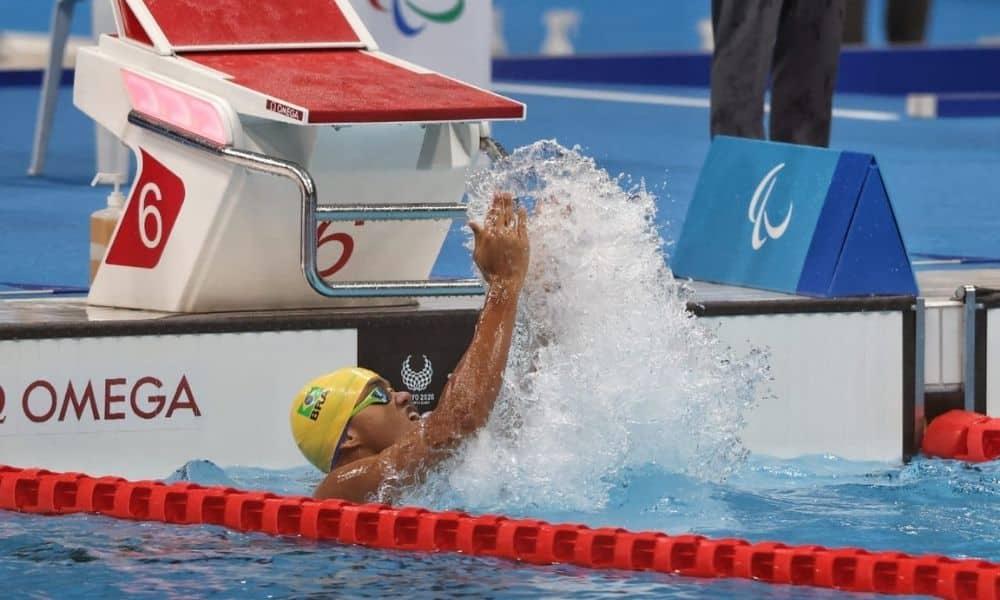 Wendell Belarmino medalha de bronze 100 m borboleta jogos paralímpicos tóquio-2020