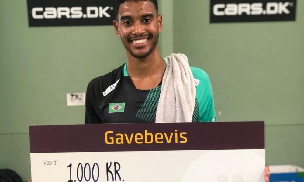 Ygor Coelho é vice-campeão de torneio dinamarquês