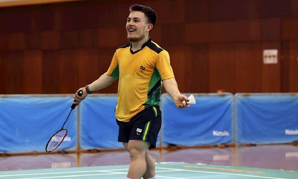 Vitor Tavares badminton Paralimpíada Tóquio