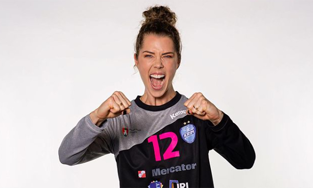 Babi Arenhart Champions League handebol feminino Krim Mercator Duda Amorim