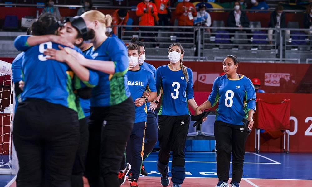 Brasil goalball feminino jogos paralímpicos bronze