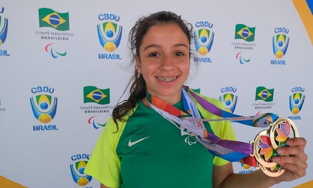 Paralímpiada Universitária Marcelly Pedroso