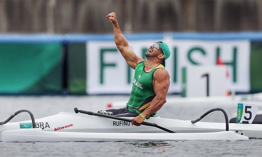 Fernando Rufino canoagem velocidade jogos paralímpicos