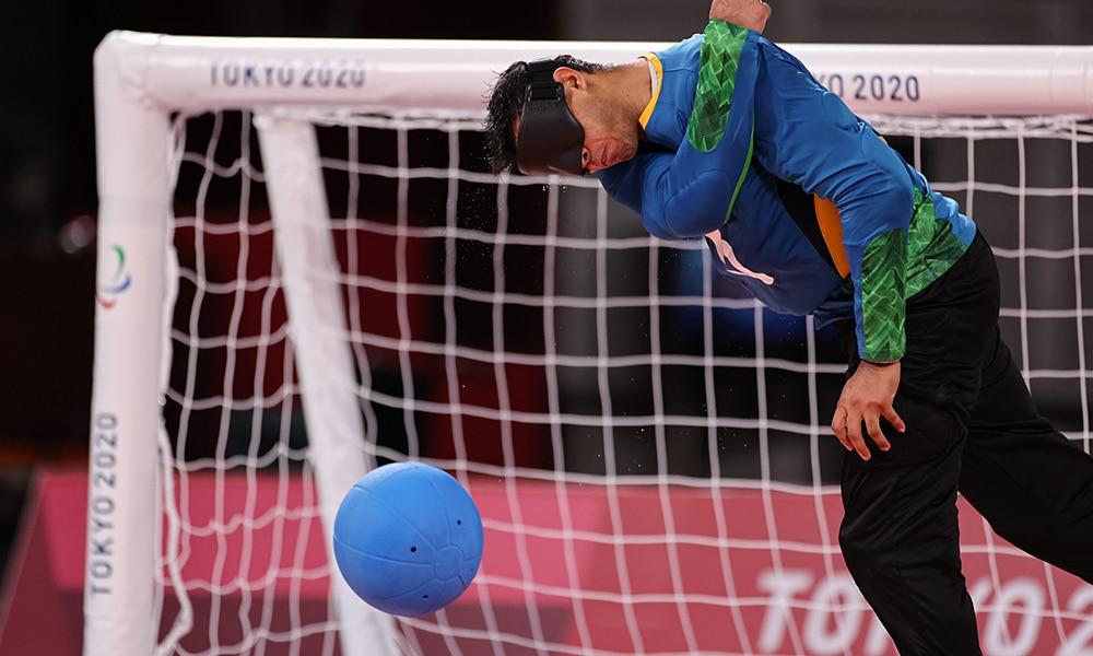 Leomon Moreno Brasil Lituânia goalball masculino Jogos Paralímpicos