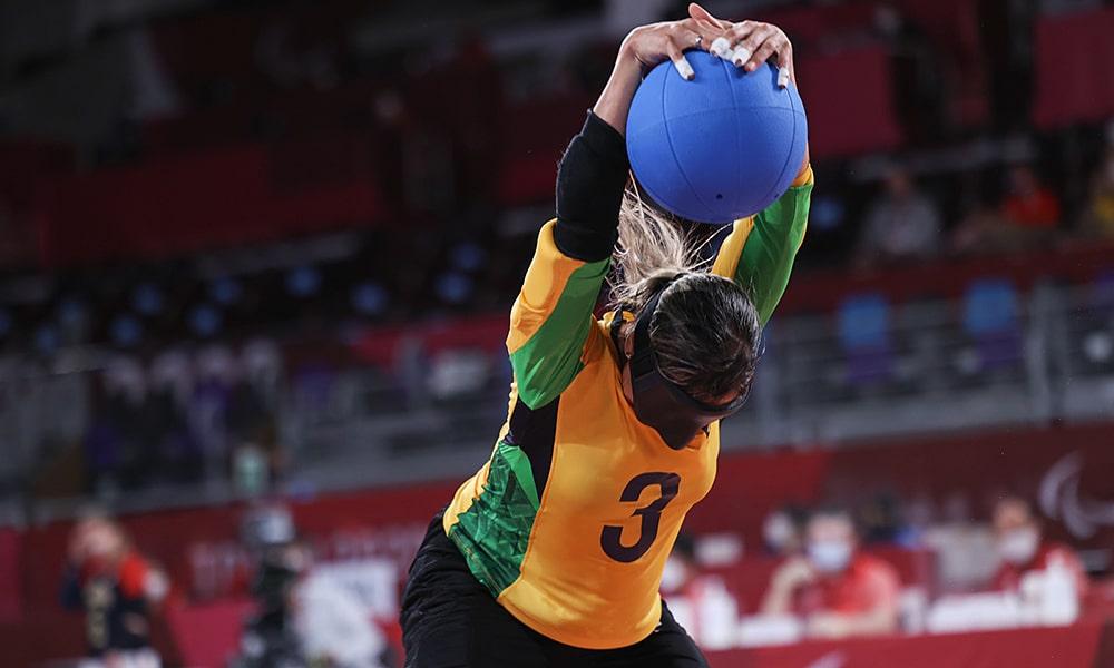 Brasil EUA goalball feminino Jogos Paralímpicos