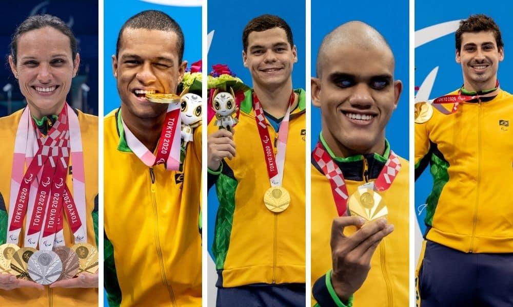 natação campanha histórica jogos paralímpicos tóquio 2020