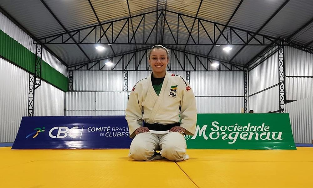 Natasha Ferreira Grand Prix de Zagreb seleção brasileira de judô