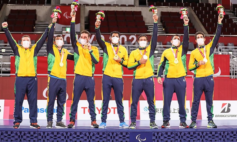 Brasil ouro goalball jogos paralímpicos