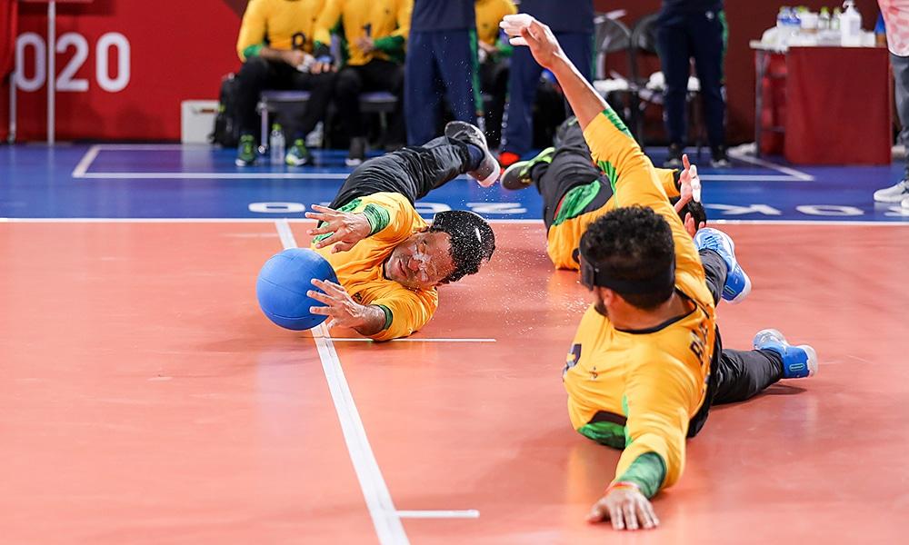 Romario Marques ouro goalball jogos paralímpicos