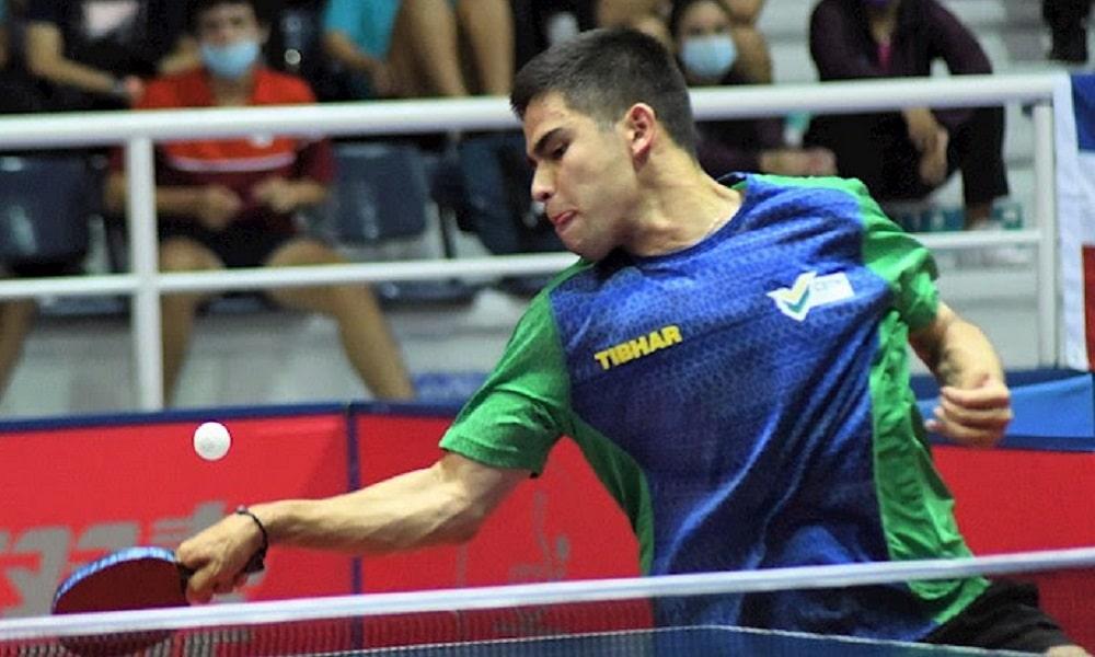 tênis de mesa Pan-Americano da JUVENTUDE