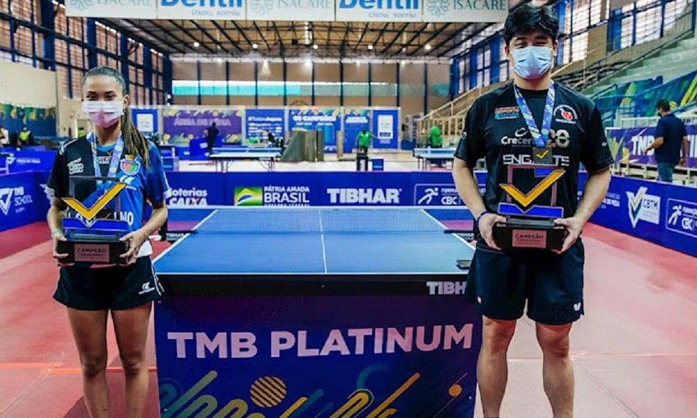 Cazuo Matsumoto e Giulia Takahashi são arrasadores e levam os Absolutos A do TMB Platinum