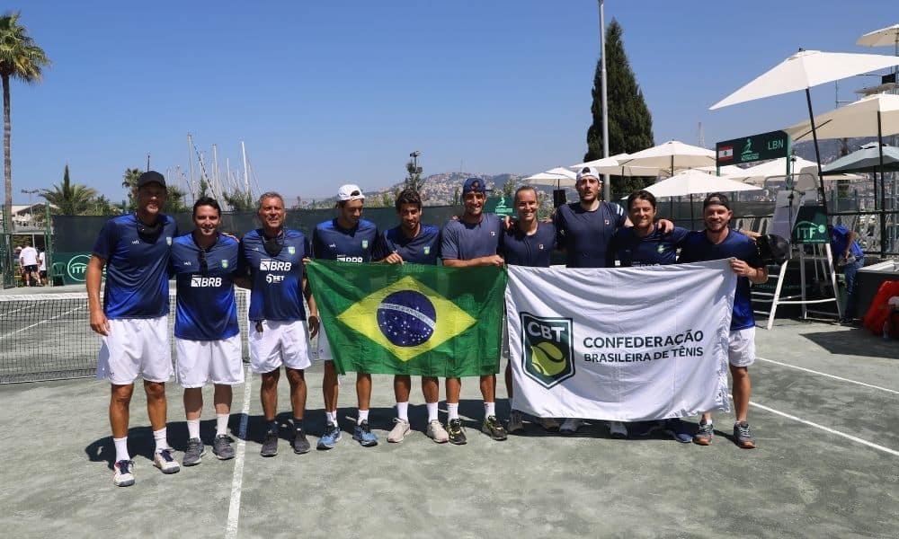 Brasil vence o Líbano por 4 a 0 pela Copa Davis