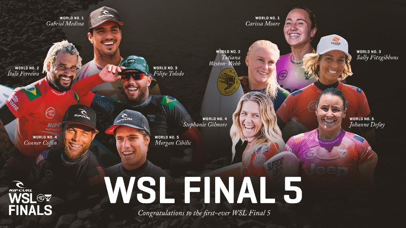 Assista ao vivo à WSL Finals, a última etapa do Circuito Mundial de Surfe