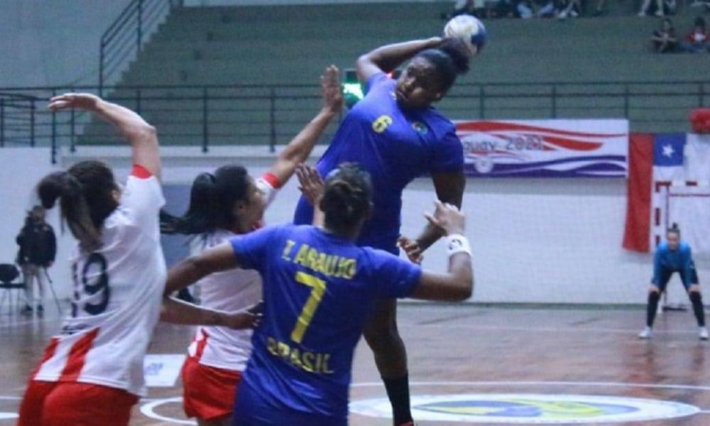 Brasil derrota o Paraguai no Sul-centro América de handebol feminino