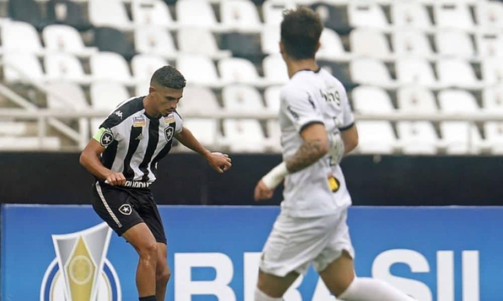 Botafogo e Atlético-MG ficam no 0 a 0 pelas quartas do Brasileirão Sub-20